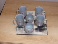 DENBY REFLECTIONS COFFEE SET