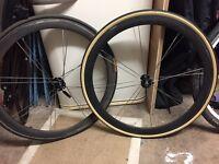 Bontrager Aeolus tubular wheelset
