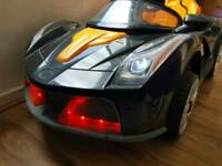 Costzon 12V Battery Powered Kids Ride On Car RC Remote Control with LED Lights Music