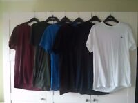 Jack Wills Sandleford T-Shirts 6 in total size M various colours. ACCEPTING OFFERS