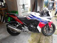 Honda C B R 500 R MOTORCYCLE