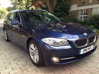 BMW 5 Series 2.0 520d SE Touring 2011 FULL BMW SERVICE HISTORY SAT NAV LEATHERS SEATS P/X WELCOME