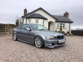 BMW 320cd e46 M-Sport Coupe
