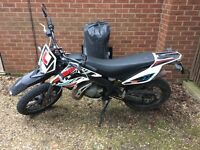 Derbi senda 50, 1 owner, low miles, warranty, full service history, 2019 MOT, reliable, derestricted