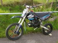 125cc wpb crf70 frame