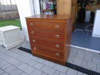 Lebus chest of four drawers