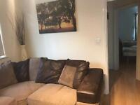 Brown corner sofa for sale