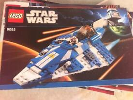 Star Wars lego compleat with mini figures