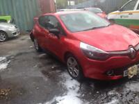 2016 RENAULT CLIO 1.2 PLAY NEW SHAPE DAMAGE SALVAGE CAT-C BARGAIN NOT TO BE MISSED