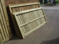 6X3 FENCE PANELS ALL TREATED A BARGAIN FOR £14.00