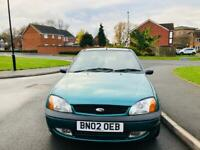 FORD FIESTA 2002 5DR 80K MILES 12 MONTH MOT IDEAL FIRST CAR CHEAP TO INSURE