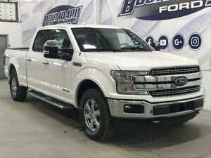 2018 Ford F-150 SuperCrew Lariat 502A 3.0L Power Stroke