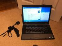 Dell latitude e5510 win 7 i3 processor 4gb ram 300gb hdd laptop