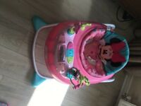 Bright Stars Minnie Mouse baby walker