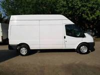 (( NO VAT )) ** WARRANTY ** FORD TRANSIT LWB HIGH ROOF, YEAR 2010, VGC IN AND OUT