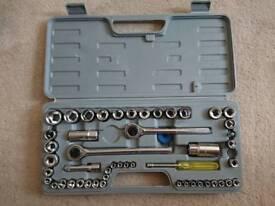 Blackspur 52 pcs socket set