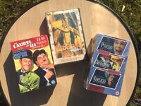 Alfred Hitchcock and Laurel and Hardy Videos