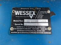 Wessex AR150 rotary mower used .can be pulled by a quad