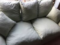 Mint Green Double Sofa Bed Good Condition