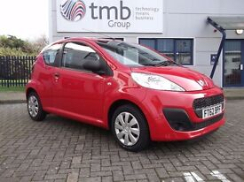 PEUGEOT 107 ACCESS 2012 FULL PEUGEOT HISTORY 27561 MILES ONE OWNER HPI CLEAR PRISTINE CONDITION
