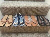 Ladies sandles size 6