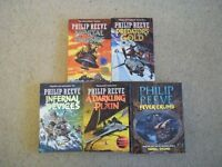 Phillip Reeve Mortal Engines series and Fever Crumb