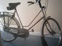 bike . Gazelle primeur . womans hybrid.