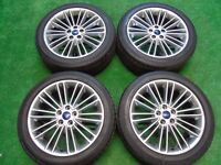 """FORD FOCUS ST, GALAXY, MONDEO, C-MAX, S-MAX, TRANSIT CONNECT 18"""" ALLOY WHEELS"""