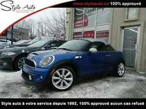 2012 Mini Cooper Coupe S CUIR  NAV