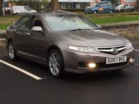 2007 HONDA ACCORD 2.4 VTEC * AUTOMATIC * SAT NAV * LEATHER * PART EX WELCOME * DELIVERY