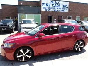 2012 Lexus CT 200h LEATHER - SUNROOF - CERTIFIED