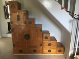 Chinese Step Cabinet