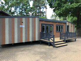 Exclusive Holiday Home Caravan for sale at Sandy Balls