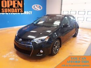 2014 Toyota Corolla S LEATHER! SUNROOF! FINANCE NOW!