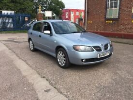 2006 Nissan Almera 1.5sx Petrol Manual Gearbox 2 Keys Half Leather Will Come With A Full Mot