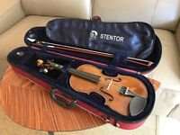 Stentor Student II 1/2 Size Violin - Immaculate Condition