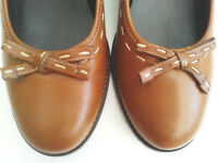 Lovely unworn Hotter Ladies Brown Shoes UK size 7.5 (EU 41.5)