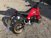 2015 Honda MSX 125cc only 2500 miles NEW MOT 2019 - 2 keys+alarm fobs Service History - Part ex Swap