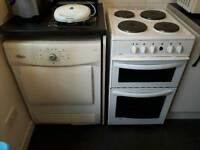 White Goods Cooker & Washing Machine