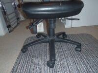 Ergonomic desk chair.