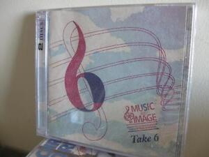 Take 6 Music and Image 2 cd set-like new(Atlantic Film Festival)
