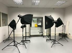 Studio space for hire from £20.00