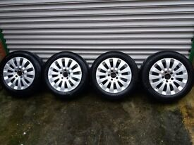 16 inch Mercedes Alloys Wheels with tyres