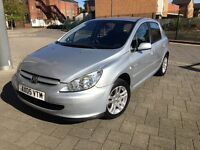 2005 Peugeot 307 1.6 HDI *very low mileage*