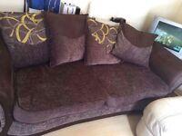 Brown matralie couch