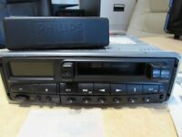 Philips RC329 RDS Radio Cassette. New old stock but no box. Immaculate. News function 4 x 35w. NOS