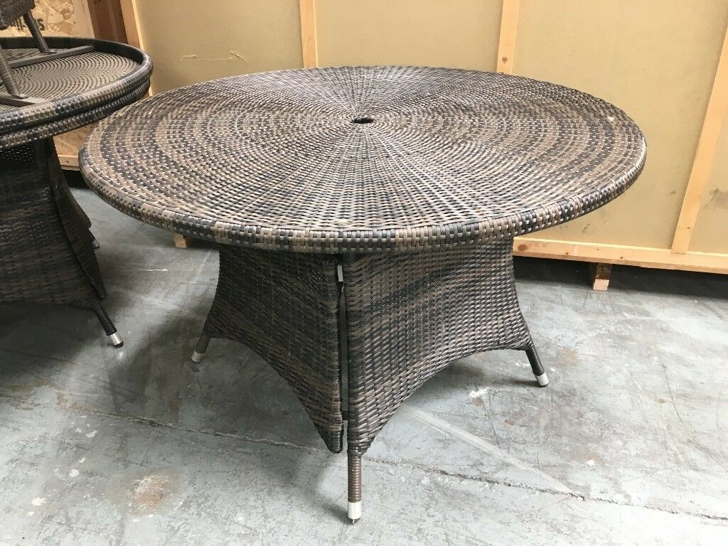 Garden furniture table and chairs