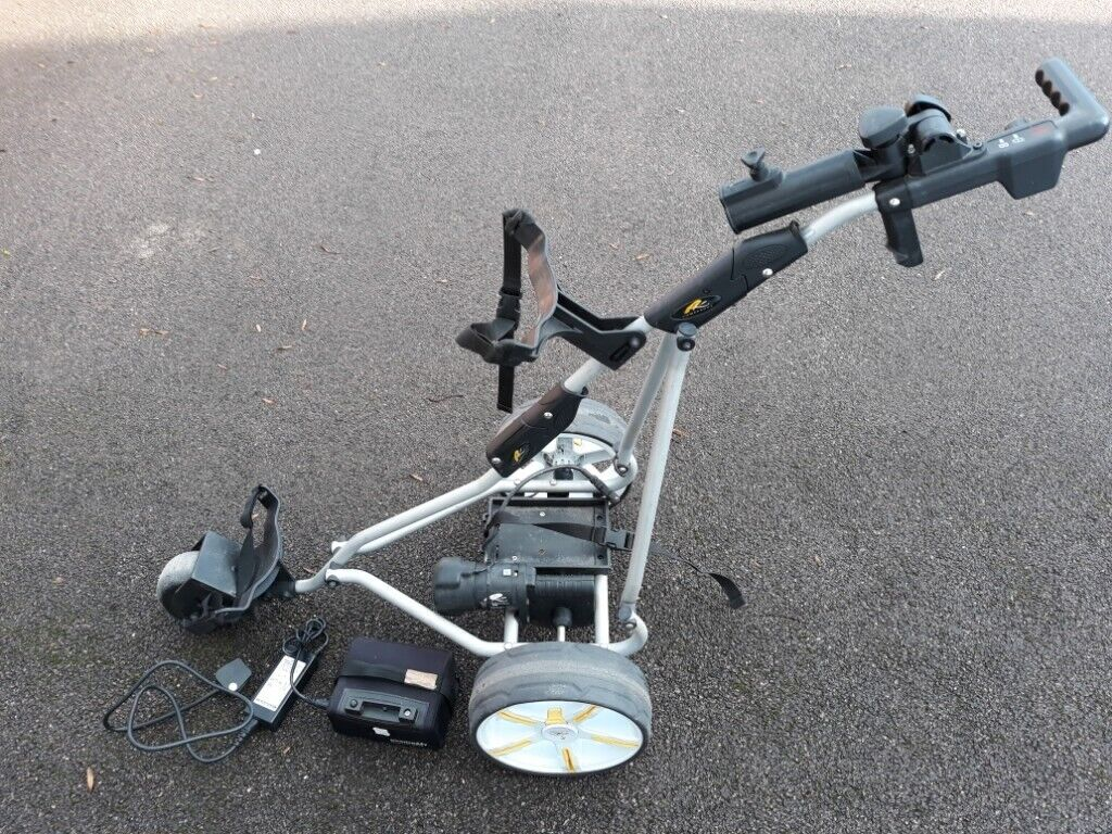 Powakaddy Trolley and 18 hole lithium battery  | in Loughborough,  Leicestershire | Gumtree