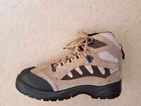 SITE GRANITE STEEL TOECAP SAFETY TRAINER BOOTS STONE SIZE 9 & 10 - BRAND NEW UNWORN AND BOXED