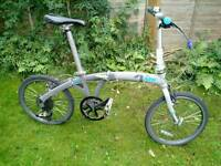 Kansi 9 speed folding bike